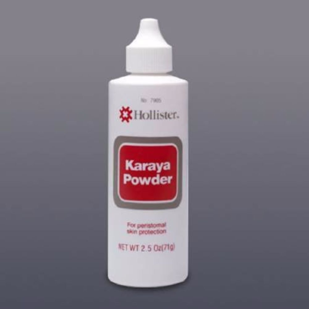 MCK79054900 - Hollister Karaya Barrier Powder Karaya 2-1/2 oz. Puff Bottle