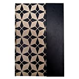 /Graphics Editor ly007Notebook A5Black Lattice Beige Background
