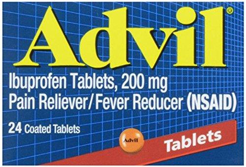Advil Tablets Advanced Medicine - Advil Advanced Medicine for Pain, 200 mg tablets, 24 ct Pack of 2