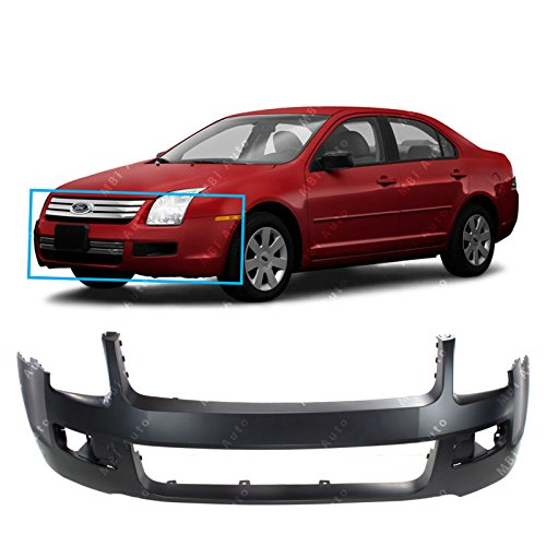 MBI AUTO Primered, Front Bumper Cover Fascia for 2006 2007 2008 2009 Ford Fusion 06-09, FO1000596