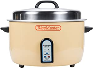 Town 57155 55 Cup Electronic Rice Cooker / Warmer - 230V - Restaurant Equipment