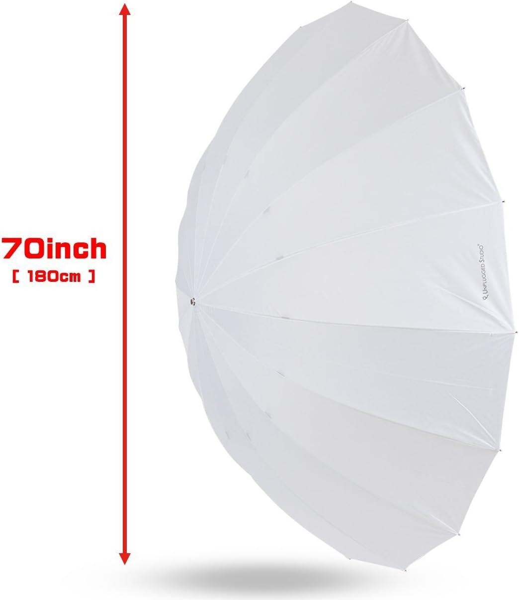 16 Fiberglass Ribs UN-024 UNPLUGGED STUDIO 60inch Translucent Umbrella
