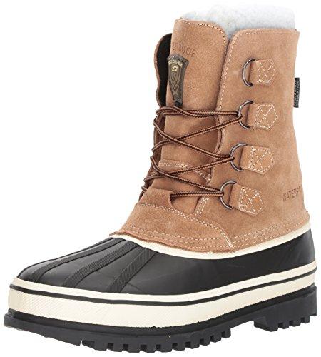 - Skechers USA Men's Revine Hopkin Snow Boot,Black/Khaki,13 M US