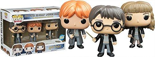 Funko POP! Harry Potter Ron Weasley Hermione Granger 3 Pack Special