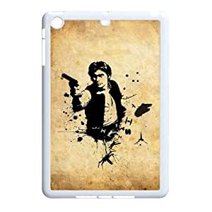 Qxhu Han Solo patterns Hard Case Back Cover for Ipad Mini