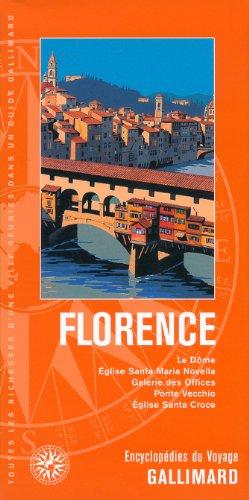 Italie:Florence: Le Dôme, Église Santa Maria Novella, Galerie des Offices, Ponte Vecchio, Église Santa Croce