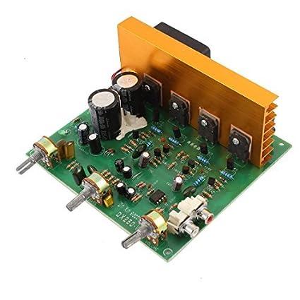 Amazon.com: LFE áudio Hi-Fi estéreo Conselho Amplificador de Potência: Automotive