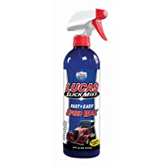 Lucas Oil 10160 Slick Mist Speed Wax - 24 oz.