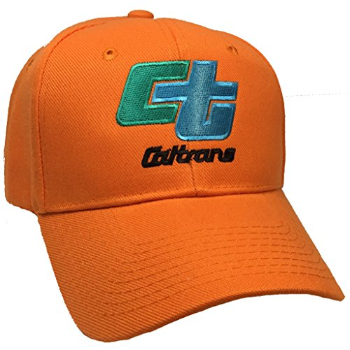 Caltrans State of California Hat Orange Ball Cap ()
