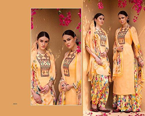 Indiano Collezione Estiva Indian Su Etnic Emporium Adesivo Donna Wear Georgette Casual Party Misura Designer Dritto Bollywood Personalizzato 2703 Abito Pakistani 7aP8qw7