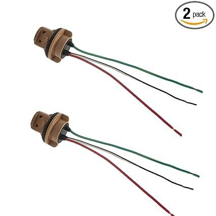 Brilliant Amazon Com Haloyivgo T20 7443 Led Bulb Brake Turn Signal Light Wiring Digital Resources Instshebarightsorg