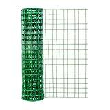 Origin Point (24850) Garden Zone 48×50 Green Vinyl 3×2 16-Gauge Garden Fence