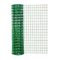 Origin Point Garden Zone 48 Inches x 50 Feet 16-Gauge Green Vinyl Garden Fence with 3 x 2 Inch Openings