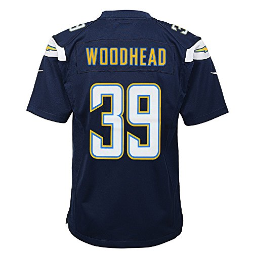 NIKE Danny Woodhead San Diego Chargers Home Navy Blue Game Jersey Youth (S-XL)