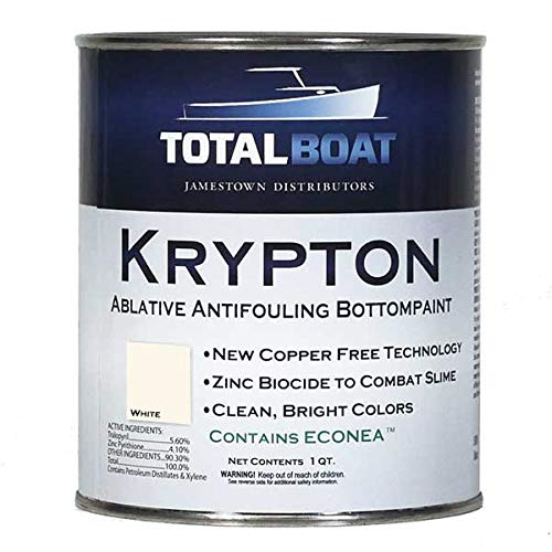 TotalBoat Krypton Bottom Paint (Bright White, Quart) ()