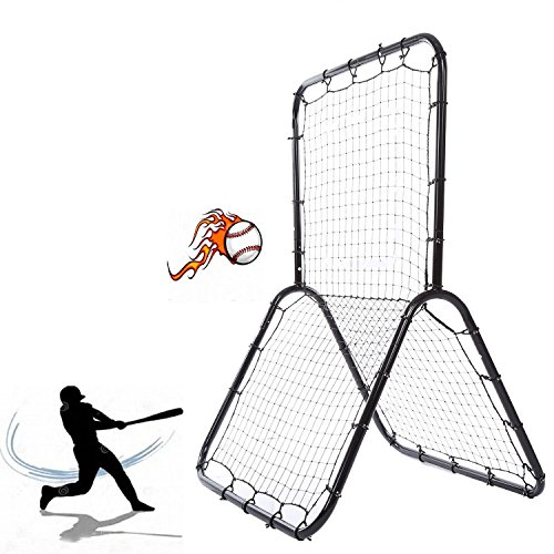 Kaluo Portable Multi-Sport Net Pitch Back Rebounder Practice Nets Training Screen for Baseball Softball(US Stock) by Kaluo