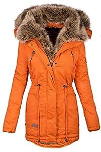 official photos 085e9 4fe2f Navahoo warme Damen Winter Jacke Parka lang Mantel ...