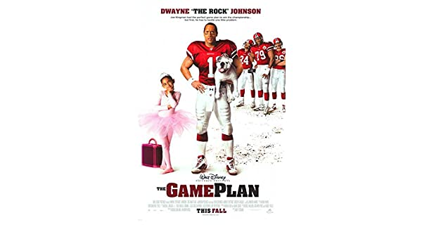 Amazon com: The Game Plan POSTER Movie (27 x 40 Inches