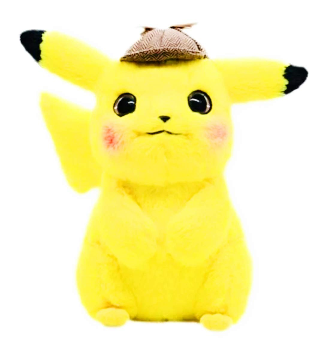 Sweet moment Detective Pikachu Stuffed Animal Plush Toy Soft Cute