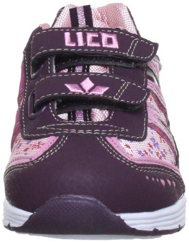 Lico Bonnie V 300072 - Zapatillas para niña Morado (Violett (rosa/lila))