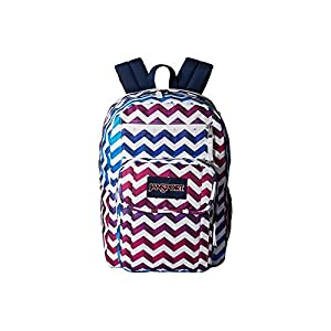 JanSport Unisex Digital Student Shadow Chevron Backpack