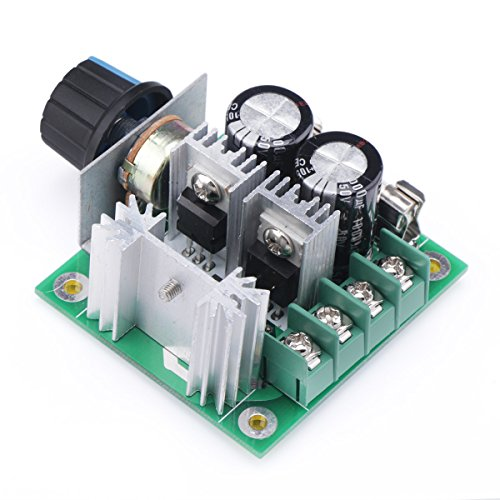 Precision Dc Motors (DROK 13KHZ PWM DC Motor Controller DC 12V-40V 10A Motors Electric Pump Fan Speed Stepless Control Module with Reverse Polarity Protection High-Current Protection)