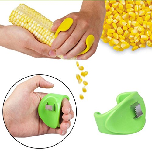 Price comparison product image 1 pcs Corn Peeler Stripper , Tuscom Household Kitchen Cutter Remover Corn Peeler Stripper Thresher Cooking Tools