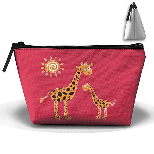 County Sparkling Wine - Wine Tote Carrier Bag Cartoon Giraffe Momand Purse For Champagne,Water Bottles