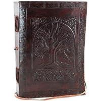 AzureGreen Tree Of Life Leather W/Cord