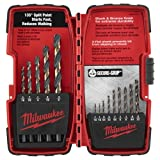 Milwaukee 48-89-1110 14-Piece Black and Bronze Drill Bit Set