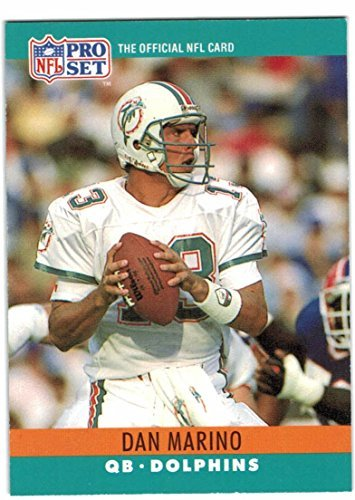 (1990 Pro Set Miami Dolphins Team Set with Dan Marino - Shula - 29 Cards)