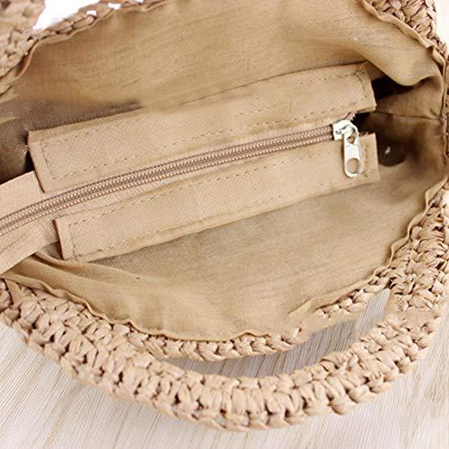 Mujer para al wonCacrostrans Claro Bolso marrón Hombro Claro Marrón 7wt7qIO1