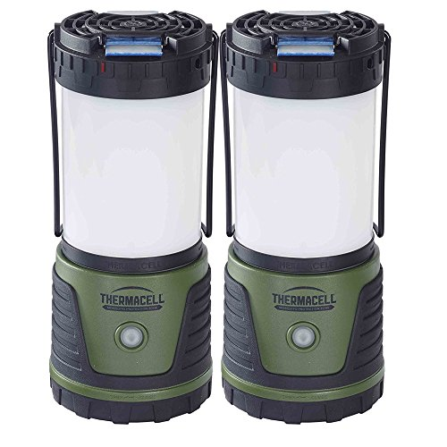 Thermacell Mosquito Repellent Outdoor/Camping Lanterns | Repels Mosquitoes and Provides Bright Light (2-Pack) by Thermacell