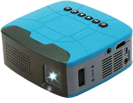 Mini proyector portátil, proyector Micro LED para el hogar ...