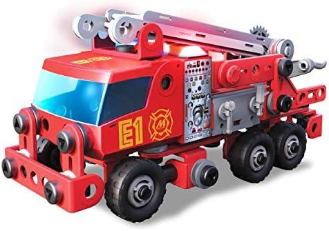 MECCANO- Set Costruzioni Junior Camion Pompieri, 6028420