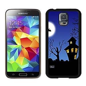 Customization halloween night Black Samsung Galaxy S5 Case 1