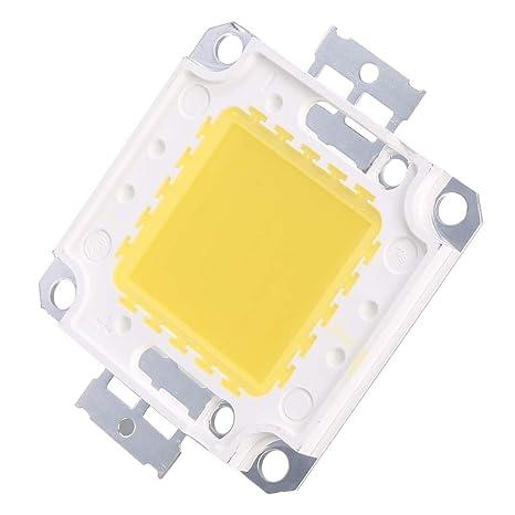 befied 50 W LED Bombilla Blanca fríos Chip claro de la bombilla de rendimiento SMT COB