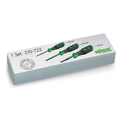 32,1 g, Verde Wago 2009-309 Solo Destornillador