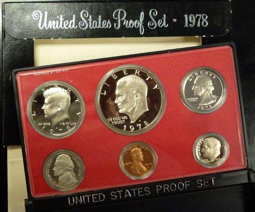 1978 U.S. Mint Proof Set Original Mint Pkg