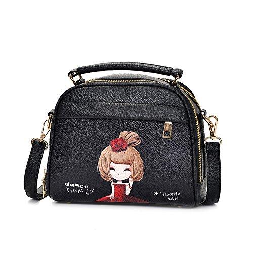 Paquete Chica Bolso Coreana Con Único Bolsa De Una Otomoll Femenina Elegante Dulce Del Paquete Y Nuevo Versión Versátil qzFFwfxXT