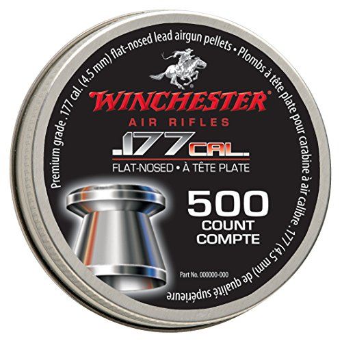 Winchester 7413 AIR Rifles Flat Nosed Pellet (500Count).177 Caliber