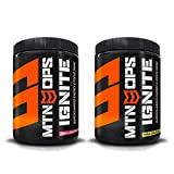MTN OPS Ignite Supercharged Energy Drink and Focus Enhancer - Tropical Bundle - Pink Lemonade and Pina Colada