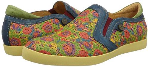 99 Multicolore Think multicolour Femme Seas Mocassins qxpwFCH