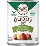 NUTRO PUPPY Canned Wet Dog Food Premium Loaf Tender Lamb & Potato Recipe, (12) 12.5 oz. Cans