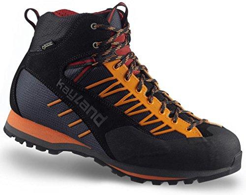 Kayland Shoes man Vertex MID GTX Black-Orange Black-Orange Precios Baratos Auténtica 2ozfPgw