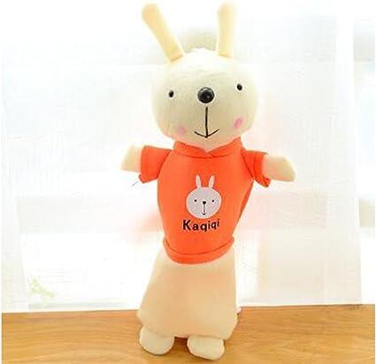 Wukong coreano estilo conejo de peluche con estuche niños papelería estudiante lápiz soporte: Amazon.es: Oficina y papelería