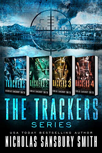 Trackers: The Complete Four Book Series (A Post-Apocalyptic Survival Thriller) by [Smith, Nicholas Sansbury]