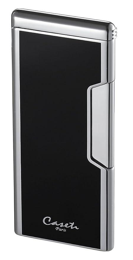 Visol Caseti Ultrafina Rectángulo Negro Encendedor