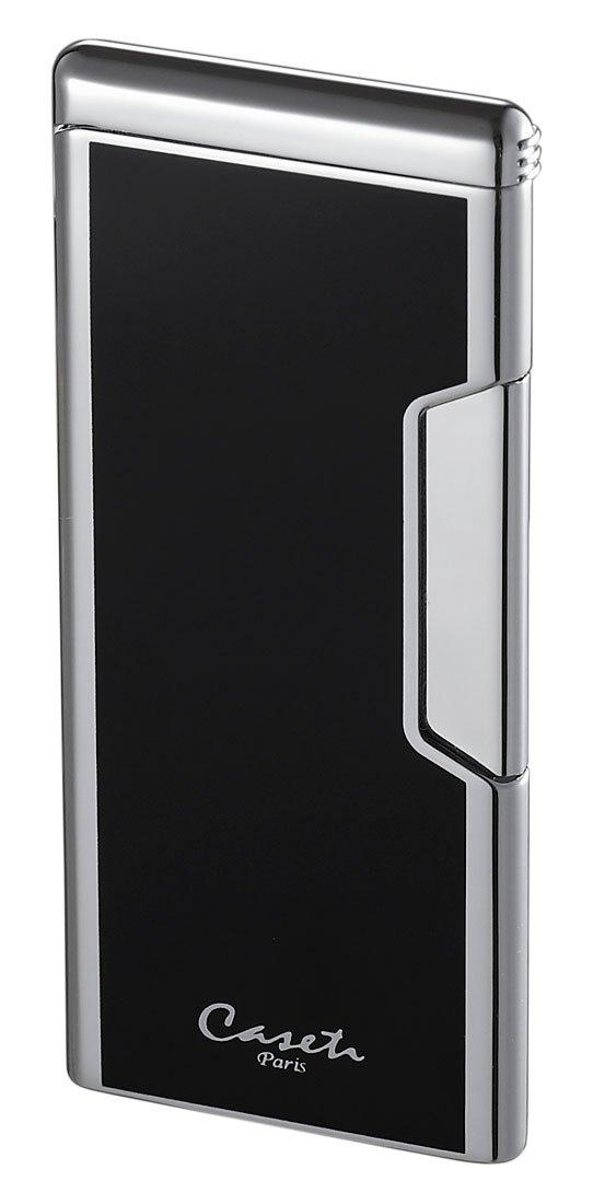 Visol Caseti Black Ultra-thin Rectangle Lighter