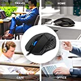 Inphic Wired USB Mouse, Silent Click and Optical